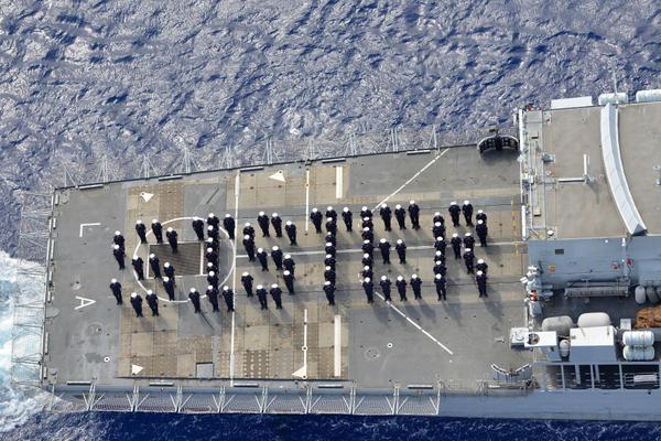 I marina della Royal Navy - foto: Ansa